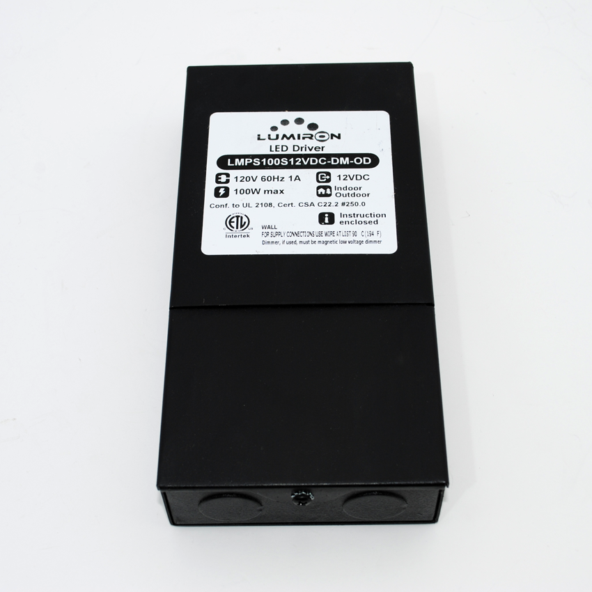 POWER SUPPLY MAGNETIC MLV 100W 12V