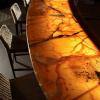 backlit stone