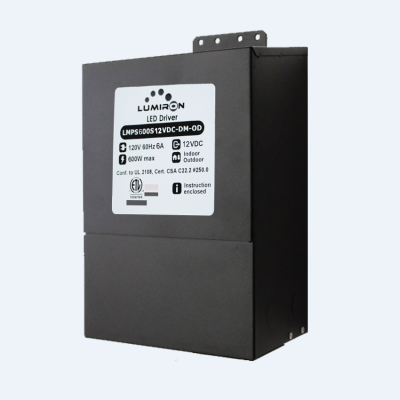 POWER SUPPLY MAGNETIC MLV 600W 12V