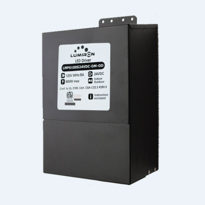 POWER SUPPLY MAGNETIC MLV 600W 24V