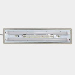TRAPANI FIXTURE LED TUBE 110-277VAC 12VDC OR 24VDC EMERGENCY